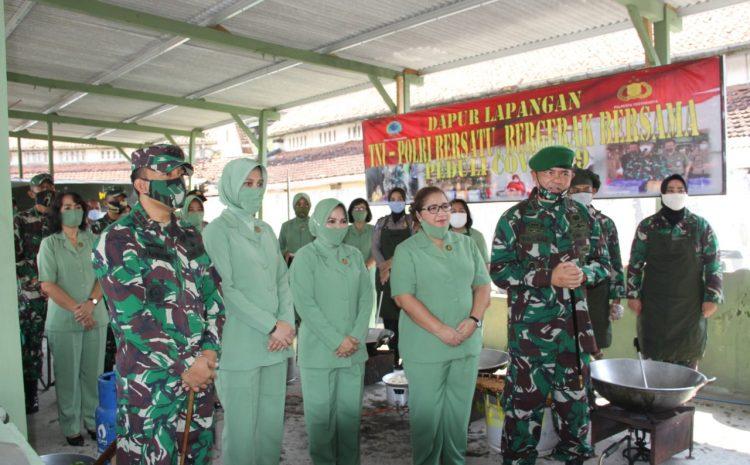 Komandan Korem 072/Pmk Kunjungi Dapur Lapangan Kodim 0734/Yogyakarta