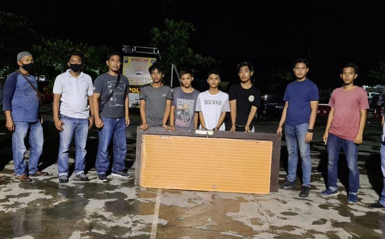 Team Scorpions Satreskrim Polres Sergai Ungkap 4 Pelaku Spesialis Pembobol Rumah Kosong
