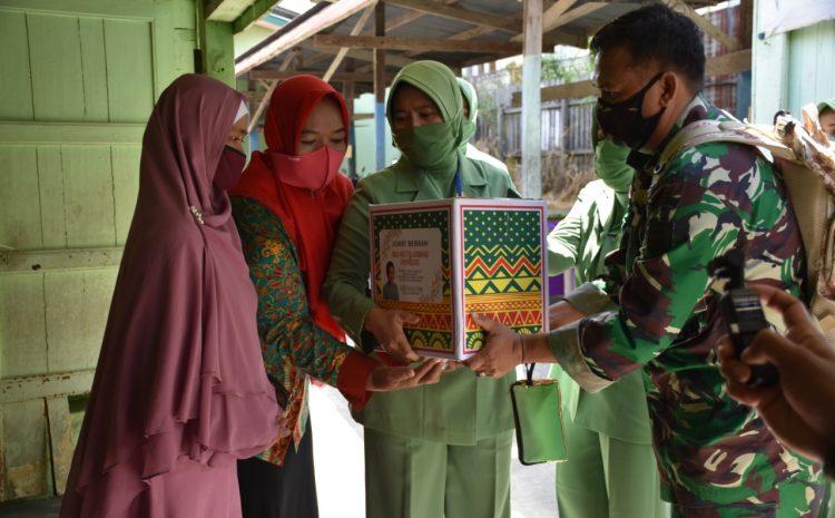 Persit KCK Koorcab Rem 091 PD VI/Mulawarman Gelar Jum'at Berkah Bersama Ketua Umum Persit Kartika Chandra Kirana