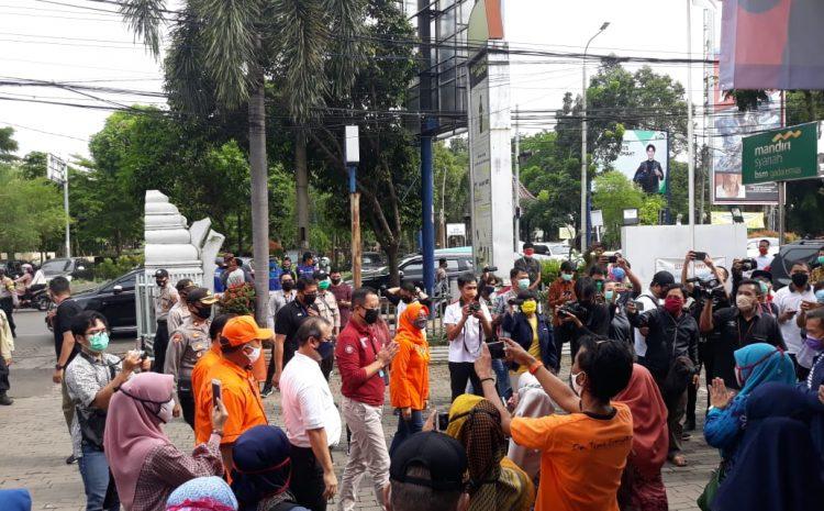 Ditengah Pandemi Covid-19 Kapolres Serang Kota Pimpin Pengamanan Kunker Menteri Sosial RI