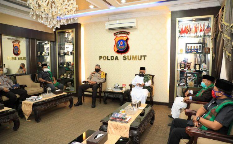 Kapolda Sumut Silaturrahmi Dan Audiensi Dengan Ustadz Rumah Sahabat Da'i