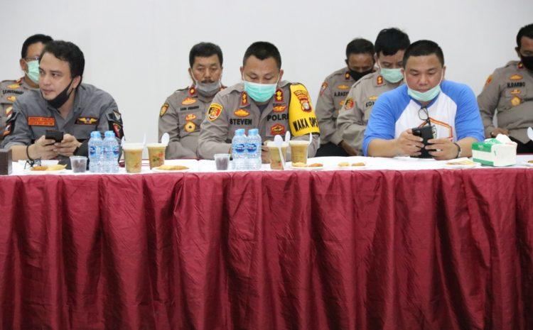 TNI POLRI Silahturahmi Dengan Pimpinan Ormas Se -Jakarta Timur Bangun Kerjasama Dalam Menangani Corona