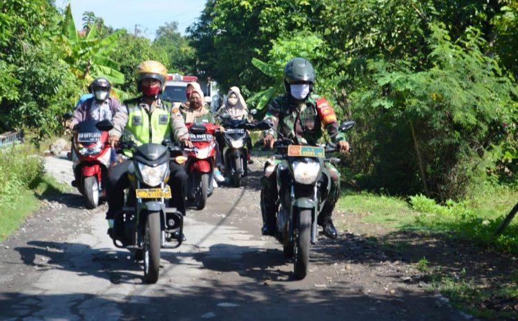 Masa Pandemi TNI Polri Terus Lakukan Patroli