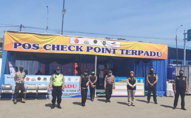 Biddokes Polda Banten, Patroli Kesehatan Ke Pos Operasi Ketupat Kalimaya 2020