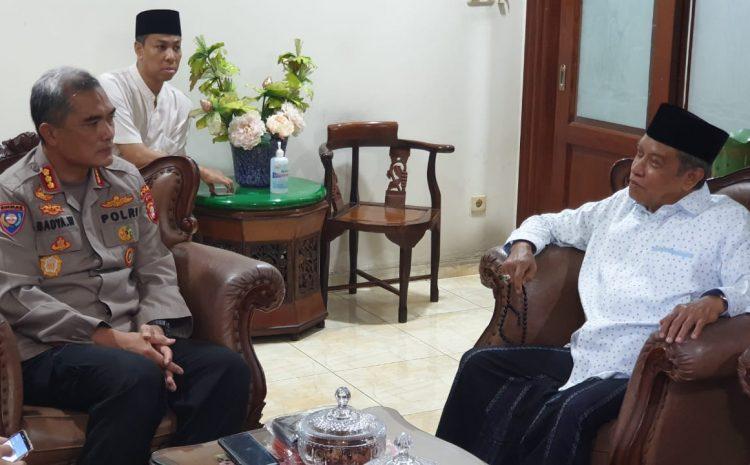 Dirbinmas Polda Metro Jaya KBP Badya Wijaya SH MH Silaturahmi Kekediaman Ketua PBNU Prof.DR.KH.Said Aqil Sirodz