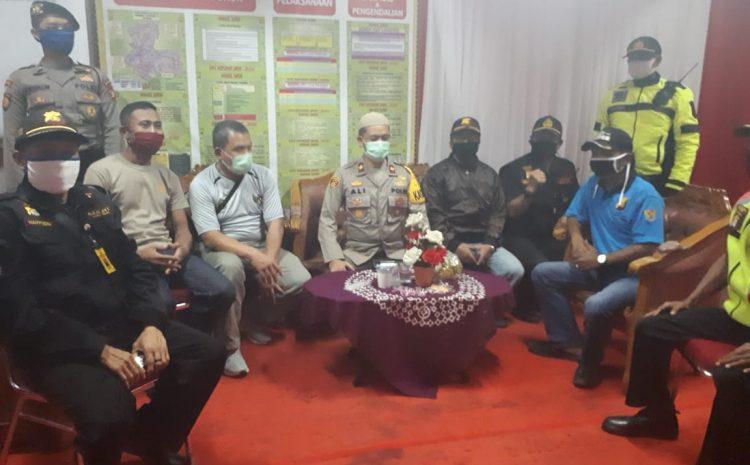 Polsek Ciledug Bersama PAM Swakarya FKPM Melaksanakan Cipkon Antisipasi Tindak Kejahatan Dan Tawuran