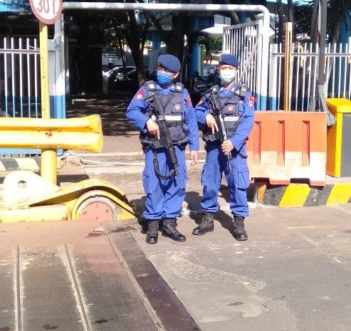 Ditpolairud Polda Banten Perketat Penjagaan Di Pelabuhan Merak