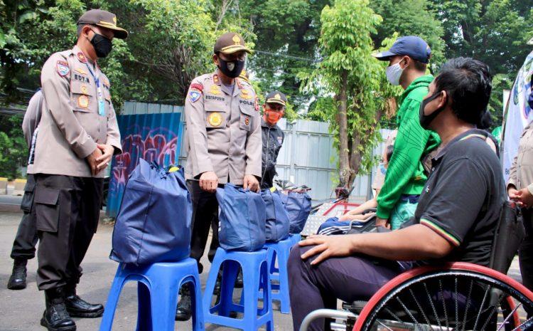 Korbinmas Baharkam Polri Ajak Masyarakat Cegah COVID-19 Lewat Brosur