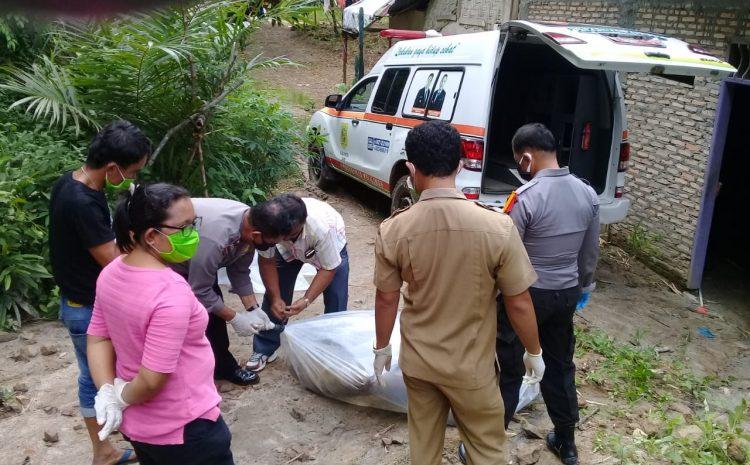 Kapolsek Tiga Lingga Pimpin Langsung Evakuasi Mayat AL