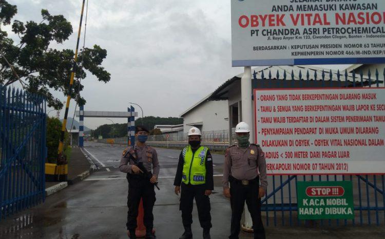 Pastikan Keamanan Pada Obvitnas Dan Obter, Personel Ditpamobvit Polda Banten Rutin Lakukan Patroli