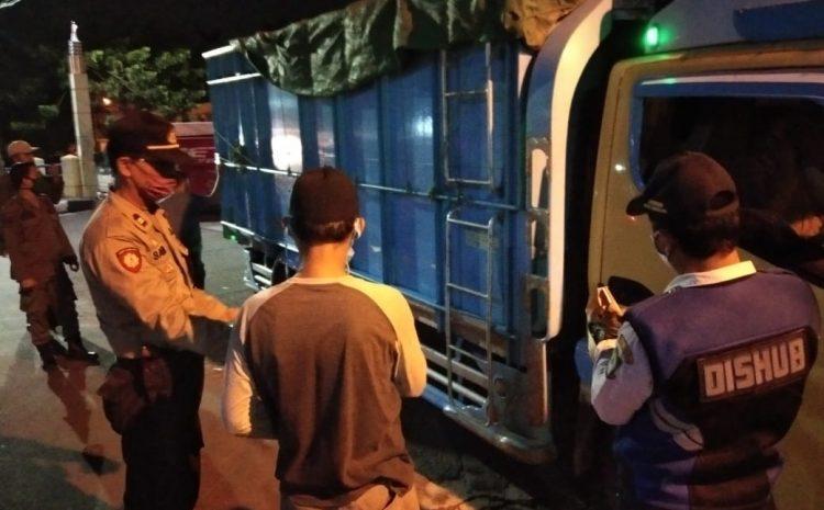 Krusial Presentase covid-19 Activity Up To 88%' Petugas Gabungan Menindak Pelanggar PSBB Di Batu Ceper Kota Tangerang