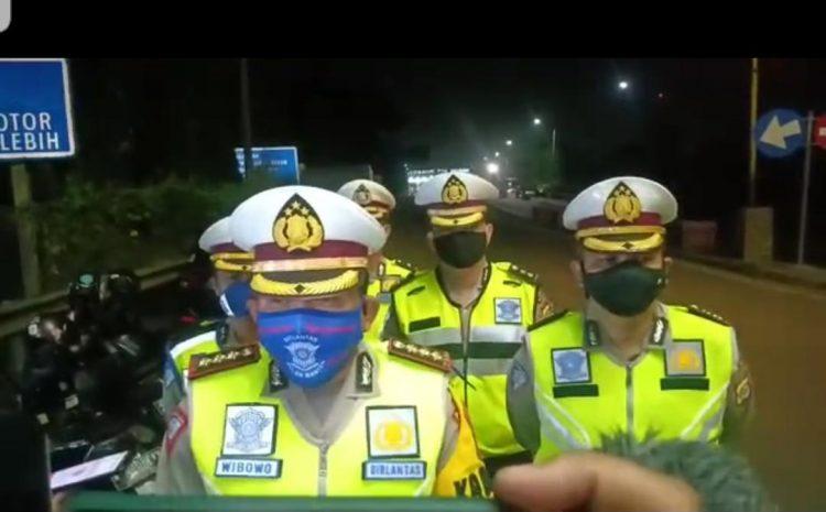 H-2 Hari Raya Idul Fitri, 396 Unit Kendaran Mudik Di Putarbalikan Polisi
