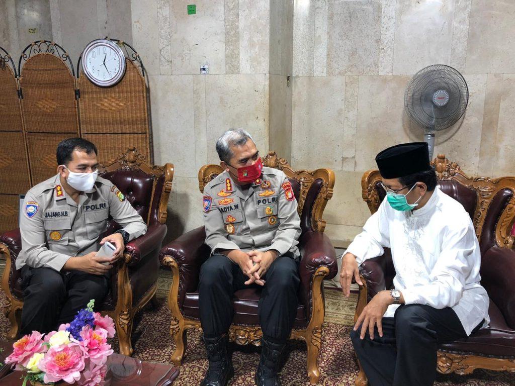 Dir Binmas PMJ Jelang Idul Fitri Lakukan Silaturahmi Dikediaman Habib Ali Kwitang