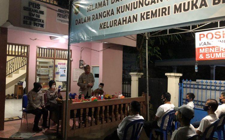 Dirbinmas PMJ KBP Badya Wijaya SH.,MH. Terjun Langsung Pantau Pos Kamling Di Kota Depok