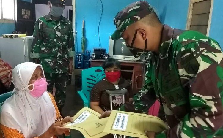 Tangis Haru Nenek Mas'at Terima Bantuan Pangdam IV/Diponegoro