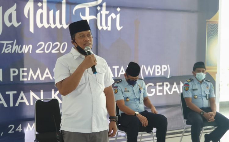 Sebanyak 1310 Orang Narapidana Lapas Kelas 1 Tangerang Terima Remisi Khusus Idul Fitri Tahun 2020
