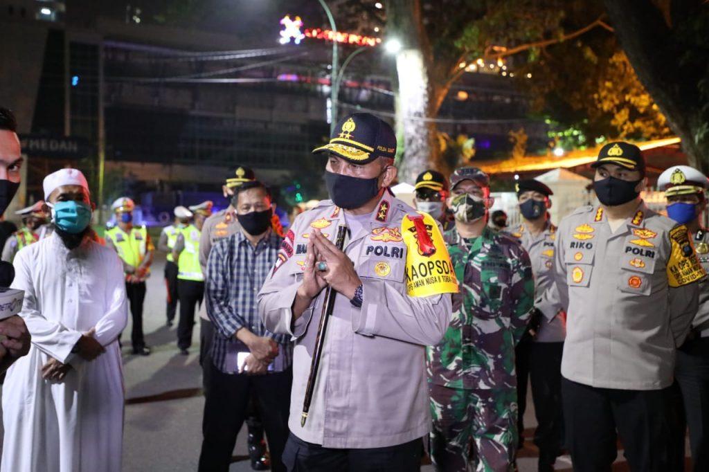 Kapolda Sumut Kerahkan 11.000 Personil Gabungan TNI-Polri Dalam Ops Ketupat Toba 2020  MEDAN