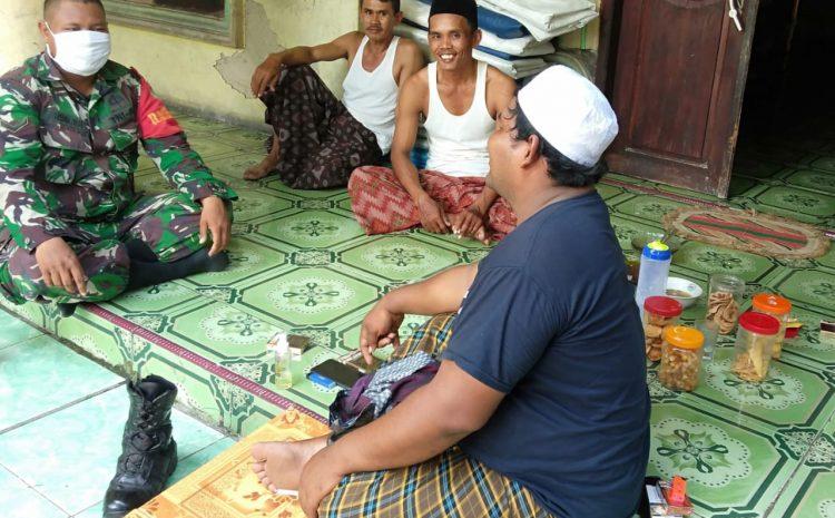 Babinsa Koramil Cikande, Laksanakan Silaturahmi Dengan Warga Binaannya