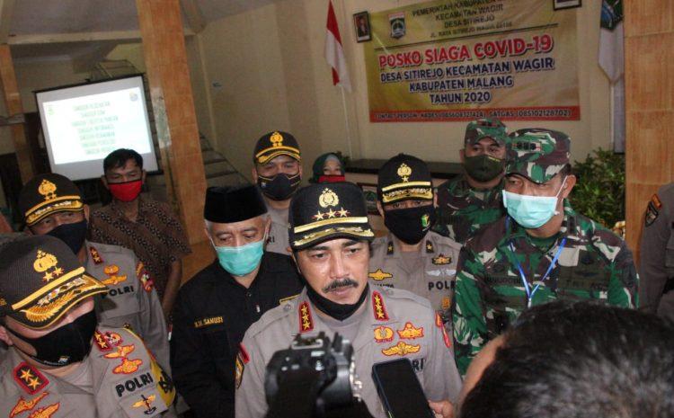 Monitroing Kunjungan Kerja Kabaharkam Polri Datangi Kampung Tangguh Desa Sitirejo Jawa Timur