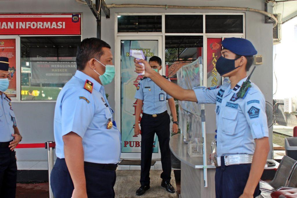 Kepala Kantor Wilayah Kemenkumham Banten Sambangi Lapas Pemuda Tangerang