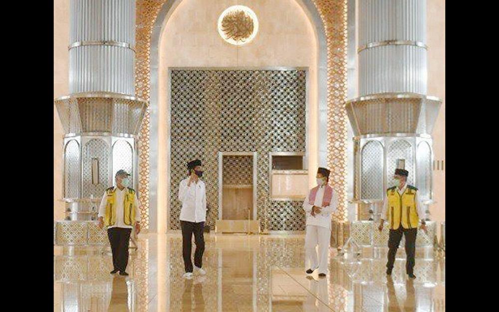 Program Renovasi Hampir Rampung, Jokowi Tinjau Masjid Istiqlal