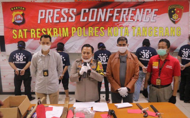 Polresta Tangerang : Dua Ormas Berselisih, 10 Orang Di Tetapkan Tersangka