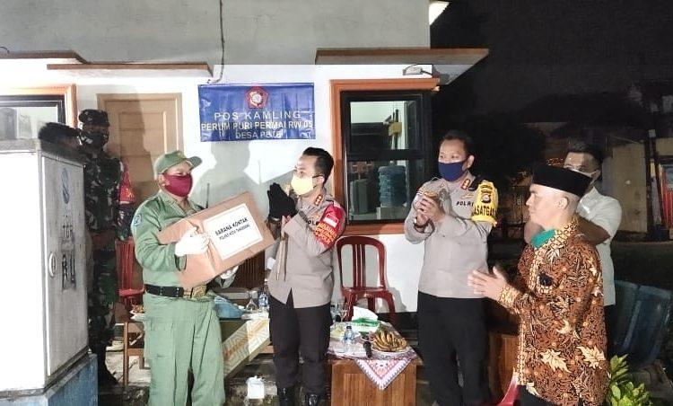 Polda Banten Gelorakan Program Desa Tangguh Nusantara Menjelang Penerapan New Normal Di Tangerang
