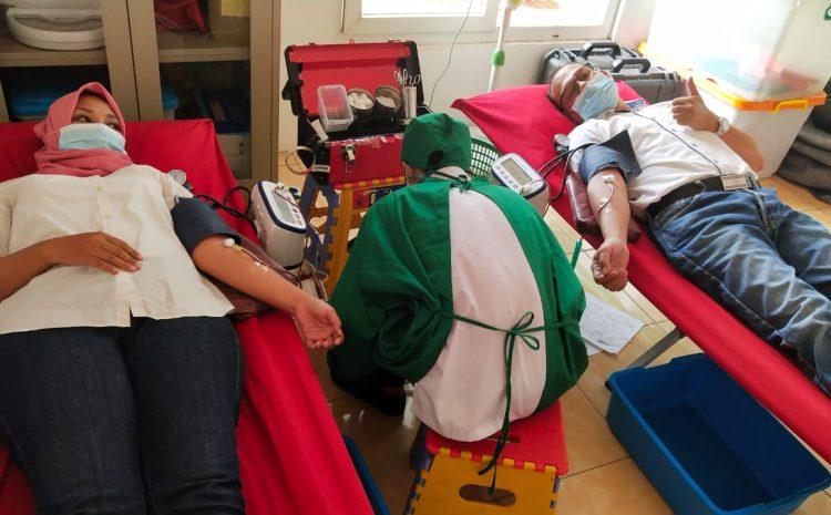 Perumahan Country Cluster Grass Land Cibubur Mengadakan Kegiatan Donor Darah Bantu PMI Cibinong
