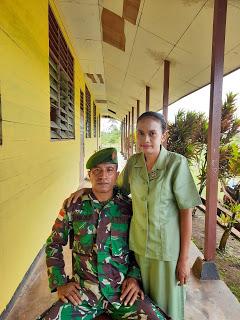 Luar Biasa Istri Prajurit Jadi Kepala Kampung Di Perbatasan Merauke