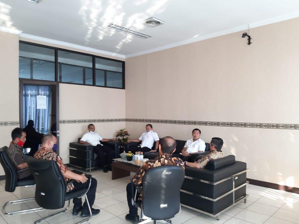 Jalin Sinergitas, Dirresnarkoba Polda Banten Kunjungi Kantor BNNP Banten