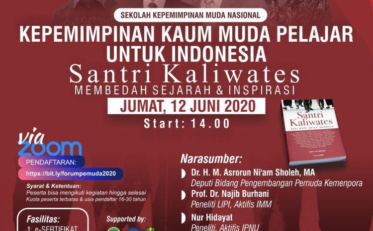 Kemenpora Melaksanakan Sekolah Kepemimpinan Nasional Untuk Kaum Muda Pelajar Di Masa Pandemi Covid 19