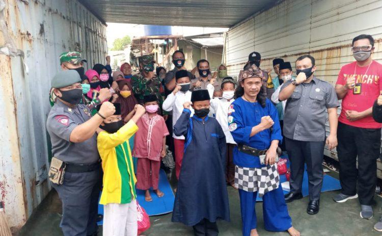 FKBN Dirjen Pothan Kemhan Memberikan Bantuan Sosial Kepada Anak Yatim Piatu