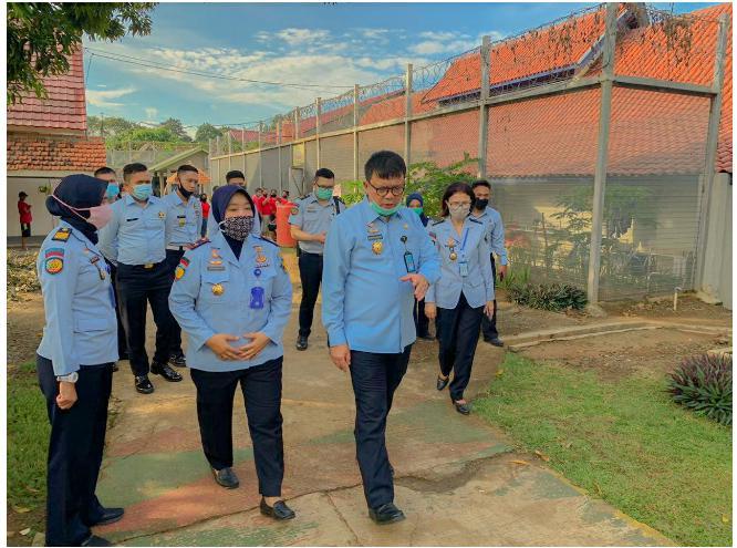 Dirjen Pemasyarakatan Lakukan Kunjungan Kerja Di Lapas Kelas IIA Tangerang