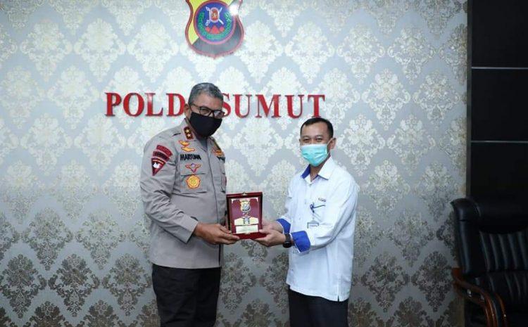 Kabid Humas Polda Sumut : PT. Indonesia Power PLTU Audensi Ke Mapolda Sumut