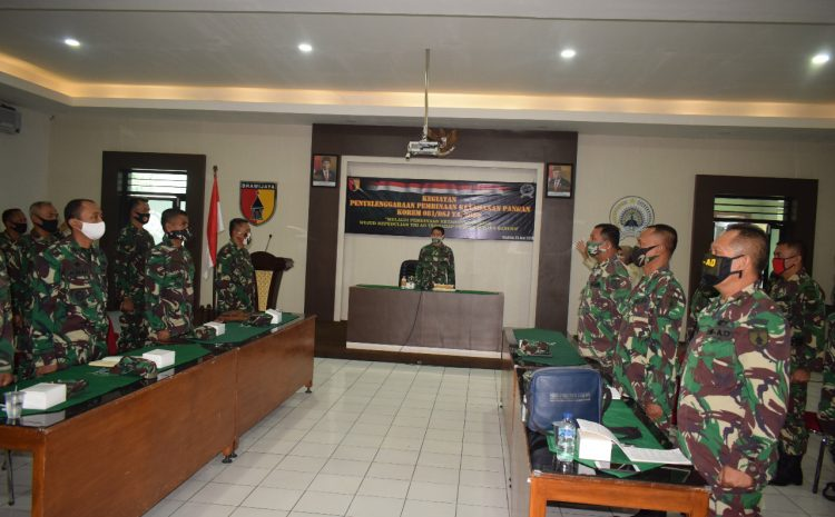 Upaya Korem 081/DSJ Perkuat Ketahanan Pangan Nasional