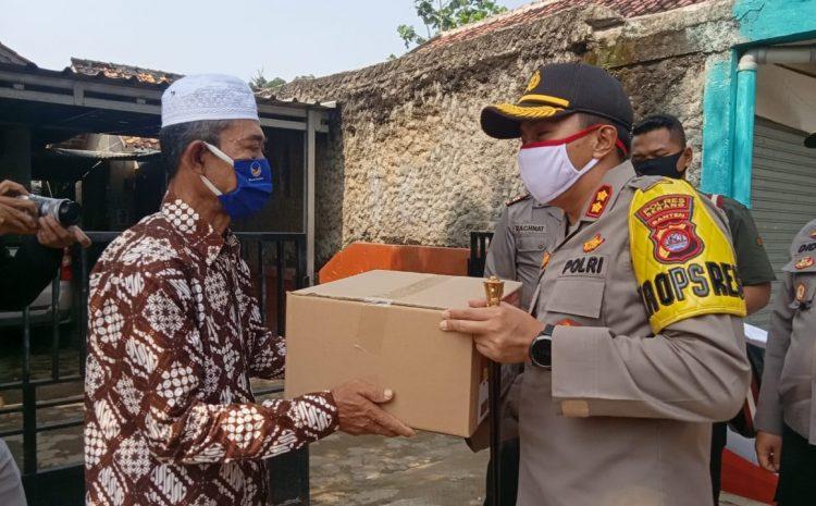 Hari Bhayangkara Ke 74, Polres Serang Anjangsana, Mengunjungi Purnawirawan