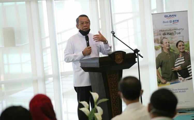 Wakil walikota Benyamin Davnie Bahas Rumah Pegawai Untuk ASN Tangerang Selatan