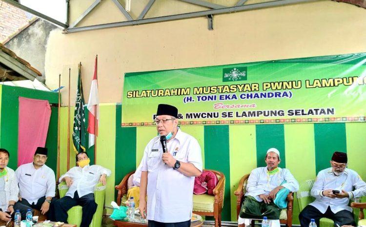 TEC Kembali Silaturahmi Ke PCNU Fan MWCNU Se-Lamsel