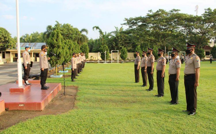 34 Personel Polres Serdang Bedagai Naik Pangkat
