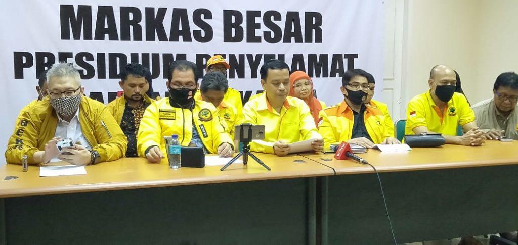 Presedium Penyelamat Partai Berkarya Dan Panitia Persiapan Munaslub