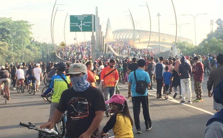 Melaksanakan CAR DAY Perdana Di Kota Bekasi Setelah PSBB
