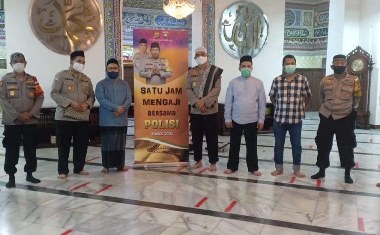 Kapolda Metro Jaya Melalui Program 1 Jam Mengaji Bersama Polisi Di Masjid Cut Meutia Menteng