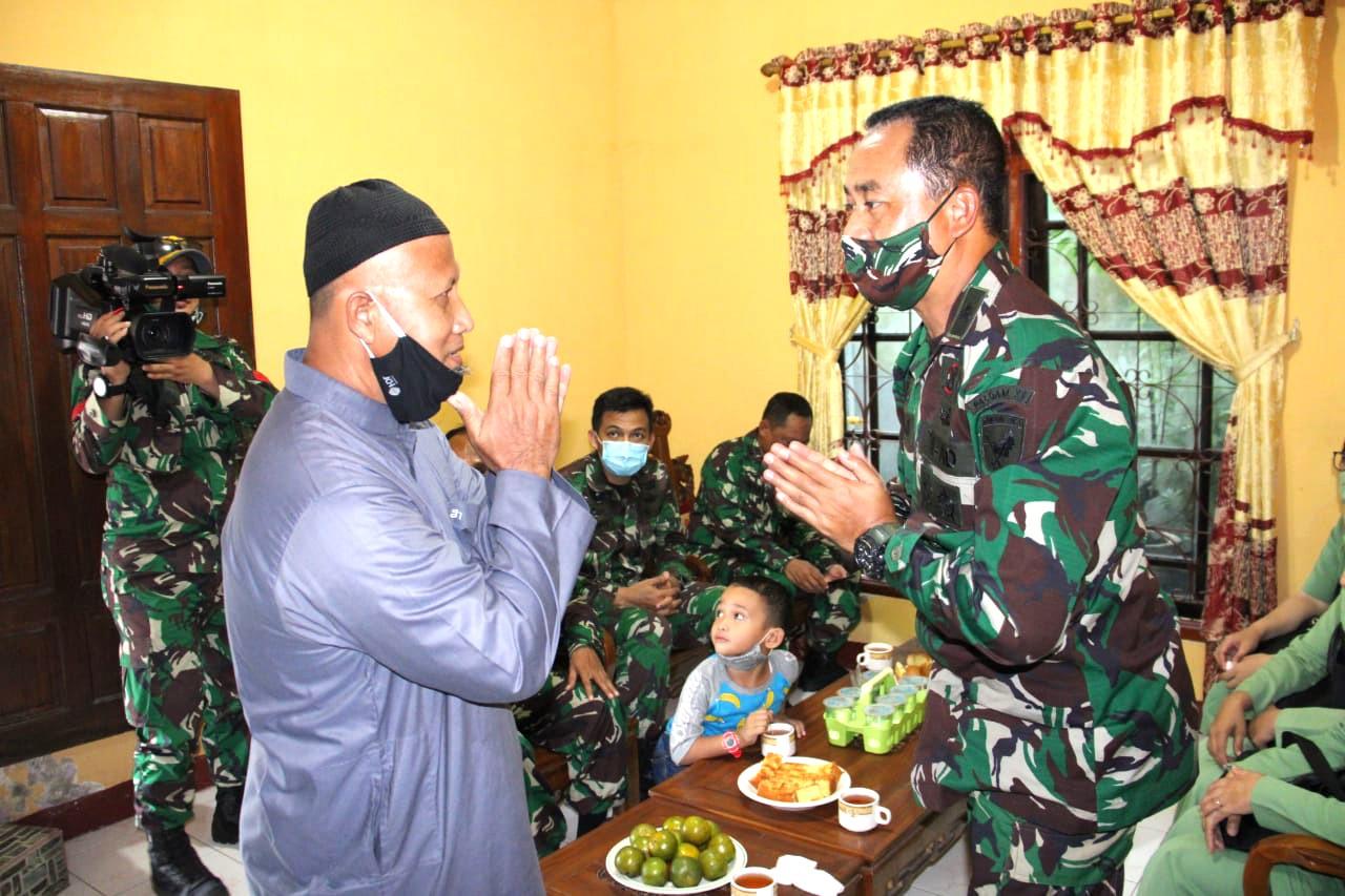 Jaga Silaturahmi Dengan Para Purnawirawan, Kapaldam XII/Tpr Pimpin Anjangsana
