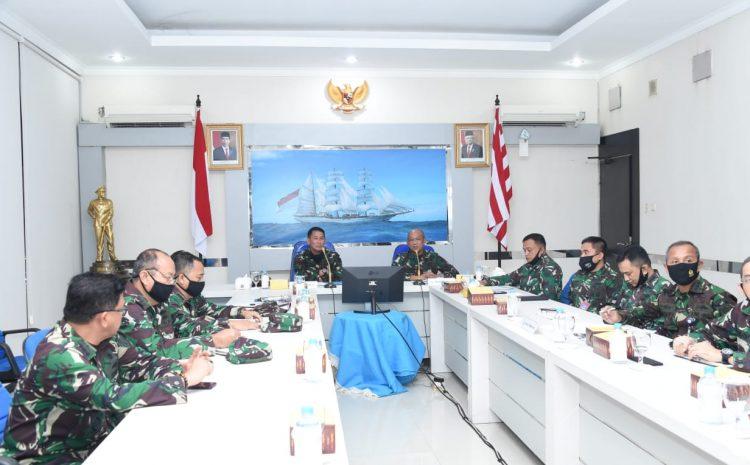 Jajaran Penerangan TNI AL Terima Sosialisasi Perpang TNI Nomor 22 Tahun