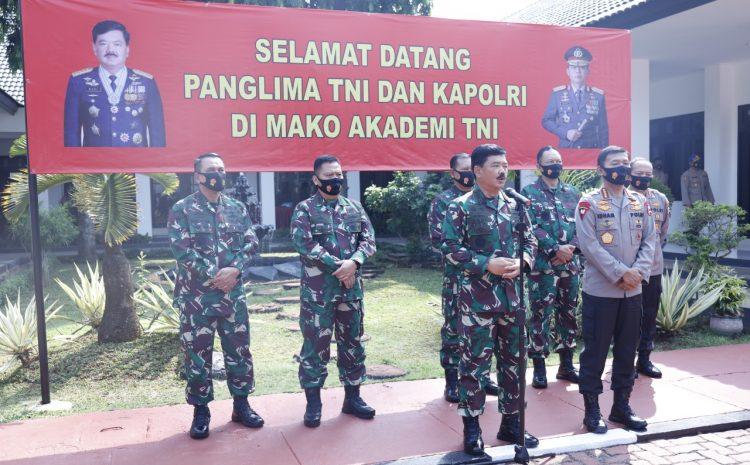 Wakasad Hadiri Pembekalan Capaja Akademi TNI Dan Akpol 2020