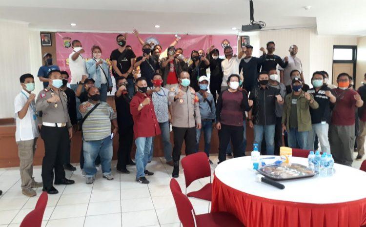 Ramah Tamah syukuran Dan Menjalin Tali Silahturahmi Polres Tangsel bersama Rekan Media