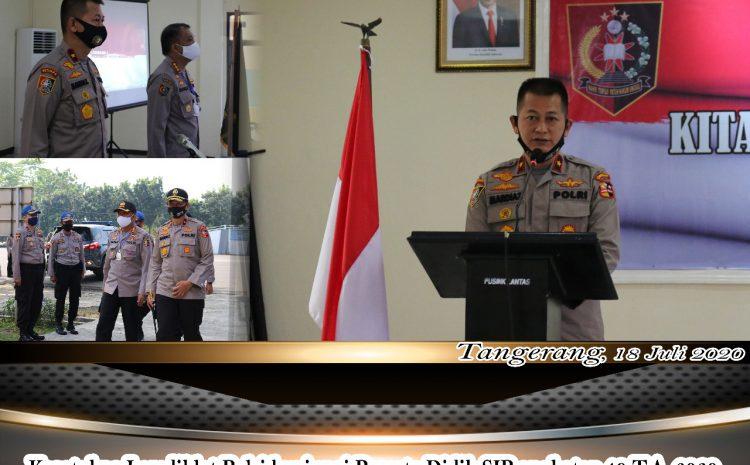 Brigjen Pol Mardiaz Kusin Dwihananto ,S.I.K, M.Hum Kunjungi Pusdik Lantas