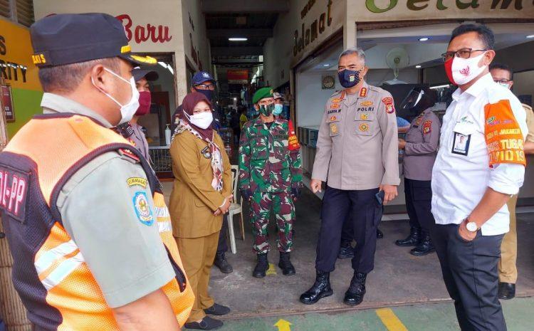 Kapolda Metro Jaya Irjen Pol Drs Nana Sudjana, Perintahkan Dirbinmas PMJ Turun Ke Pasar