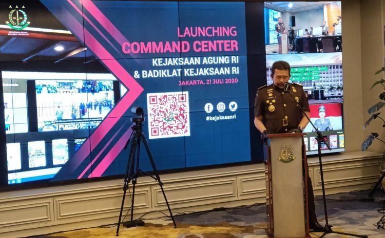 Sebanyak 34 Kejati Dengan 487 Kejari Pakai Teknologi Command Centre Kejaksaan Agung