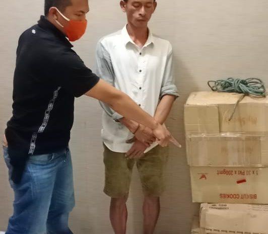 Unit Reskrim Polsek Tanjung Balai Utara, Ungkap Kasus Pencurian Pakaian Dalam Wanita (BH) Sebanyak 4 Kardus